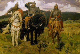 Виктор Васнецов «Богатыри», 1898 год