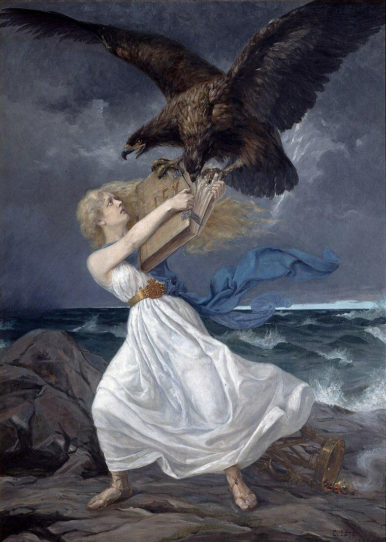 Эдвард Исто «Атака», 1899 год