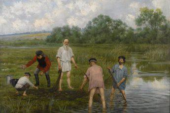 Наргиз Бунин «Рыбная ловля», 1903 год