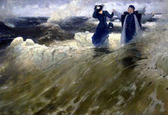 Илья Репин «Какой простор!», 1903 год