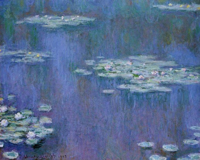 Клод Моне «Водяные лилии», 1905 год