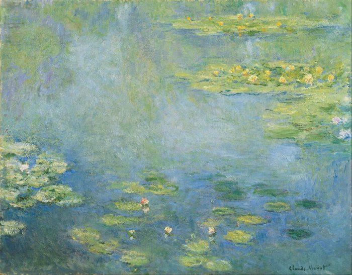 Клод Моне «Водяные лилии», 1906 год