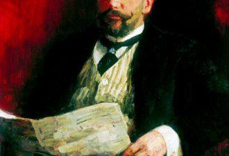 Илья Ефимович Репин «Портрет премьер-министра Столыпина», 1910 год