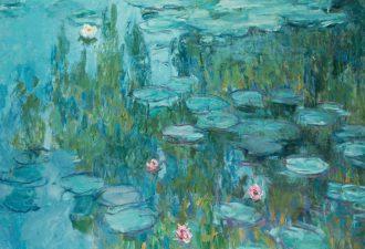 Клод Моне «Водяные лилии», 1914 год