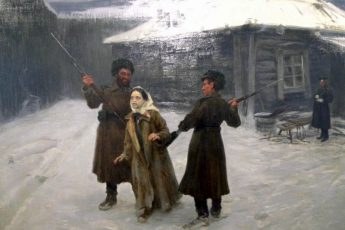 Николай Касаткин «Сигида», 1930 год
