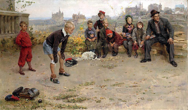 Григорьев Сергей Алексеевич «Вратарь», 1949 год