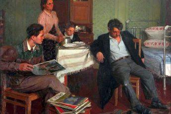 Лихачев Михаил Иванович «Когда это кончится?», 1954 год
