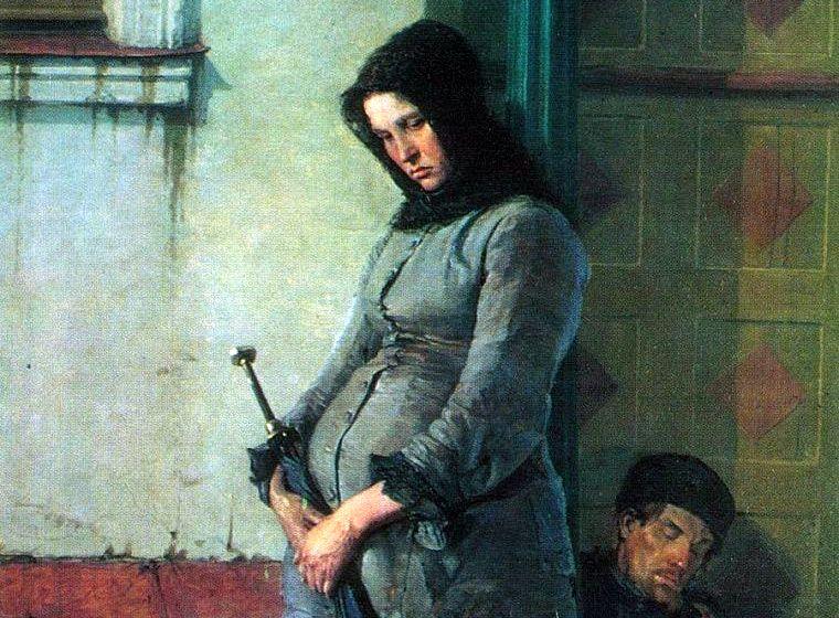Ярошенко Николай «Выгнали», фрагмент