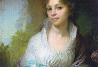 В. Л. Боровиковский «Портрет М. И. Лопухиной», 1797 год