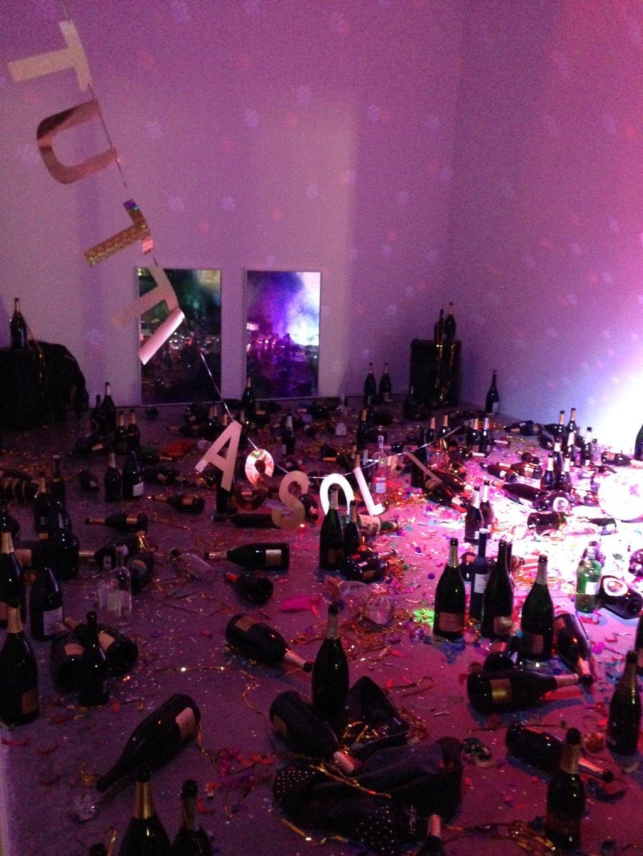 Инсталляция в итальянском музее современного искусства Museion Bozen-Bolzano, которую уборщица посчитала мусором. Фото: Museion Bozen-Bolzano