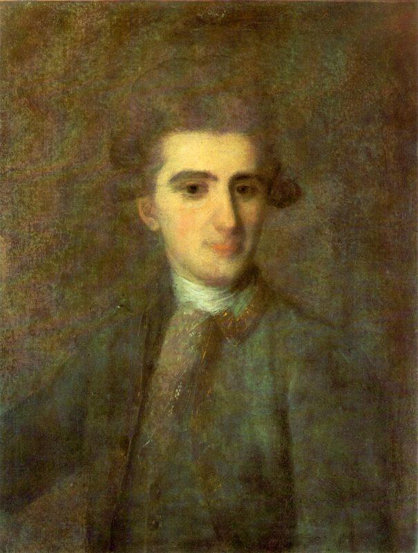 Фёдор Степанович Рокотов «Портрет Николая Струйского», 1772 год
