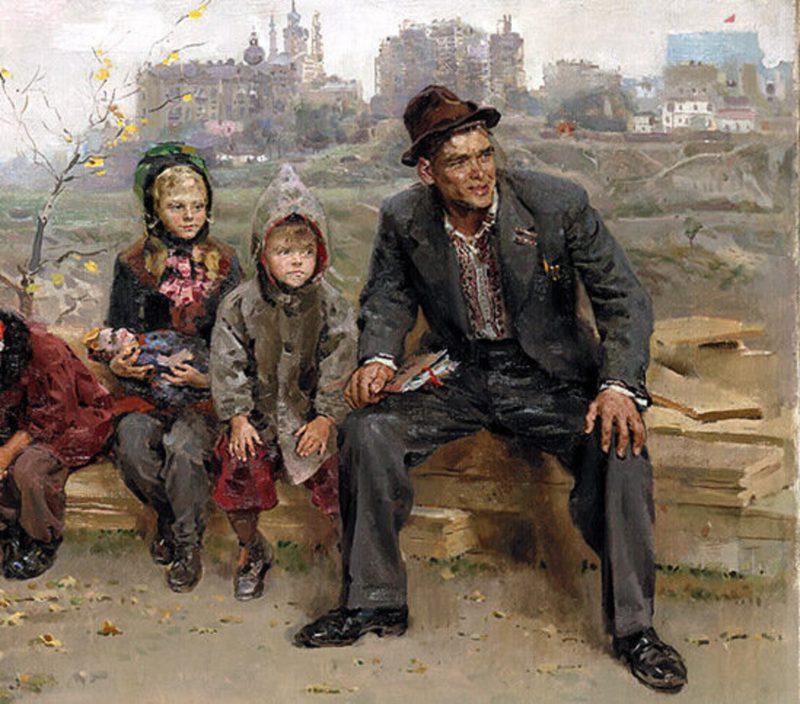 Григорьев Сергей «Вратарь», фрагмент