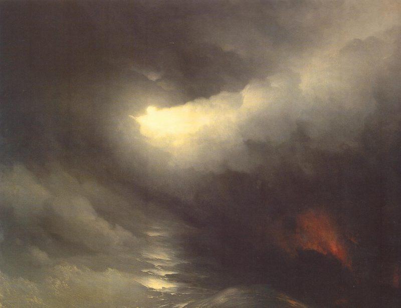 Иван Айвазовский «Сотворение мира», 1864 год