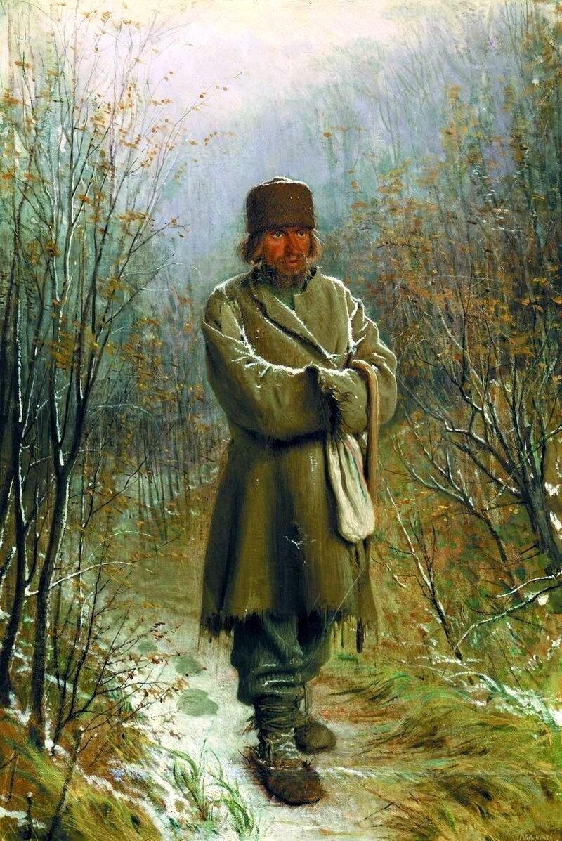 Иван Крамской «Созерцатель», 1876 год