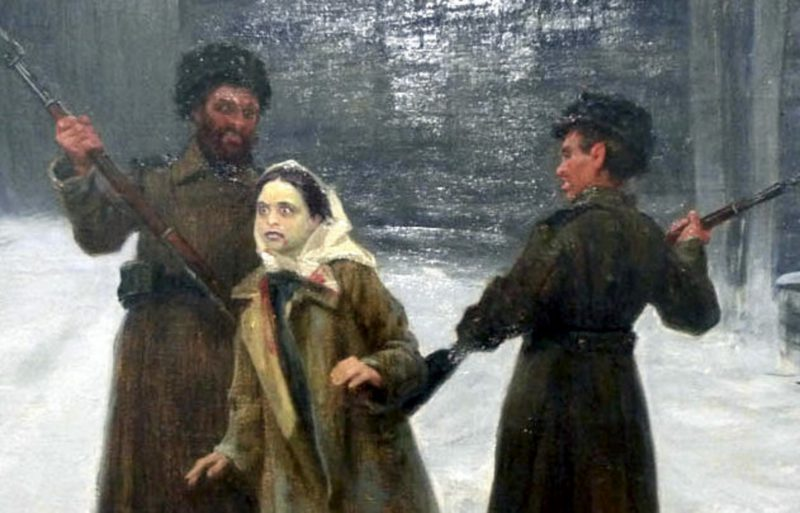 Николай Касаткин «Сигида», фрагмент