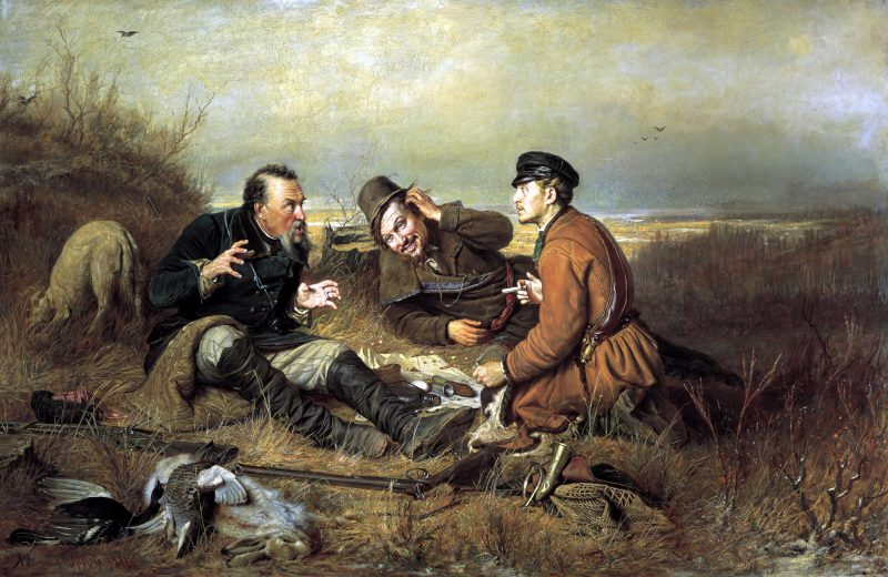 «Охотники на привале», Василий Перов, 1871 год