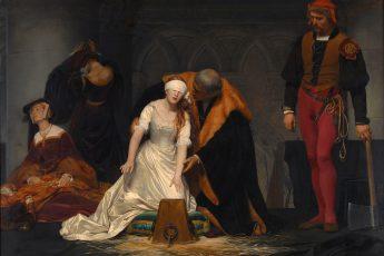 Поль Деларош «Казнь Джейн Грей», 1833 год