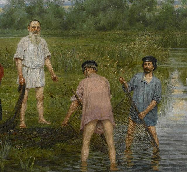 Наргиз Бунин «Рыбная ловля», фрагмент