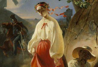 Тарас Шевченко «Катерина», фрагмент