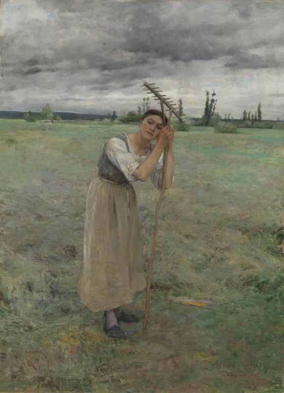 Жюль Бастьен-Лепаж «Крестьянка на отдыхе»