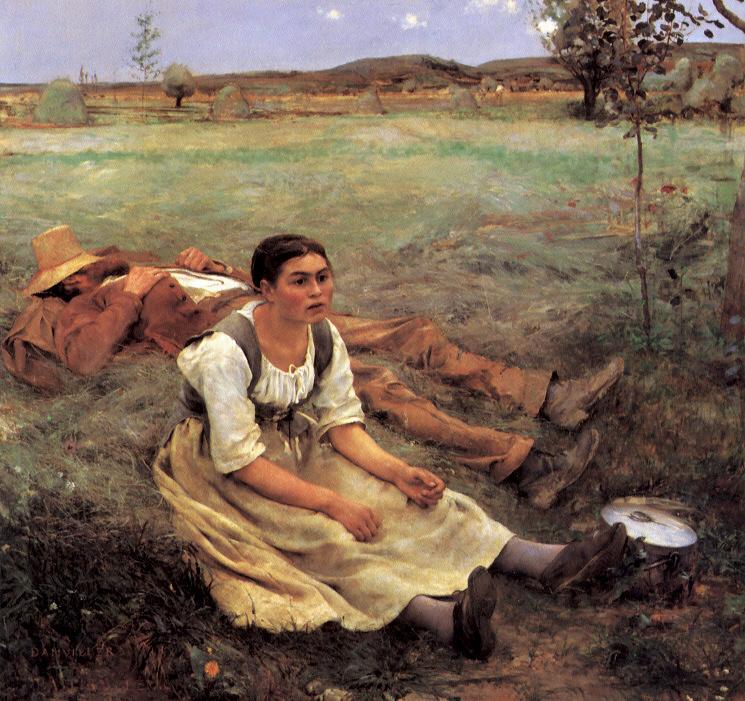 Жюль Бастьен-Лепаж «Сенокос», 1877 год