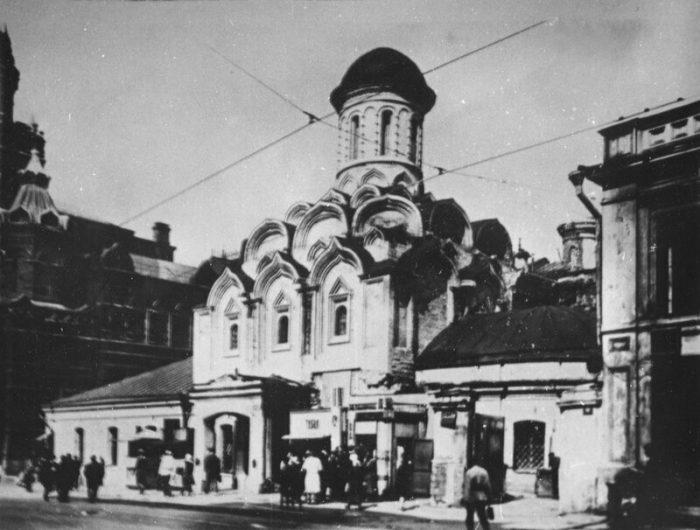 Исторический вид Казанского собора