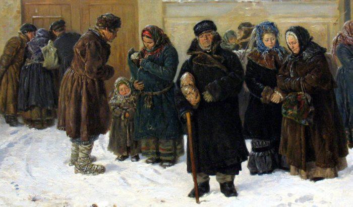 Владимир Маковский «Ожидание», фрагмент