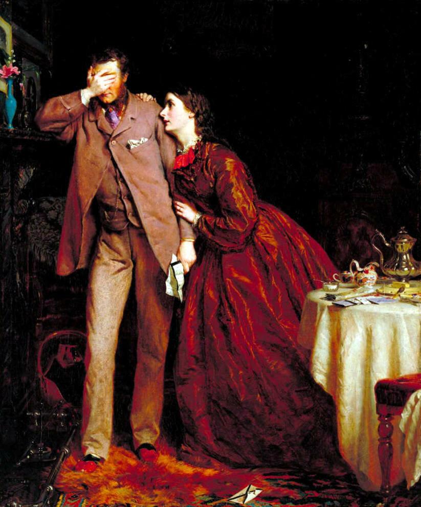 Джордж Хикс Элгар «Миссия женщины: Спутница зрелости», 1862 год