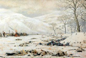 Василий Верещагин «Шипка-Шейново. Скобелев под Шипкой», 1879 год