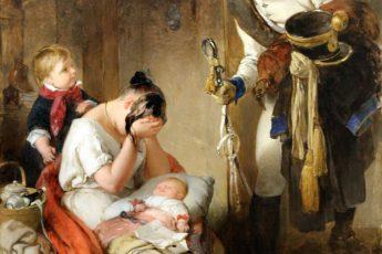 Питер Фенди «Печальное известие», 1838 год
