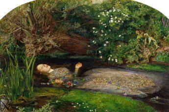 Джон Эверетт Милле «Офелия», 1851-1852 год