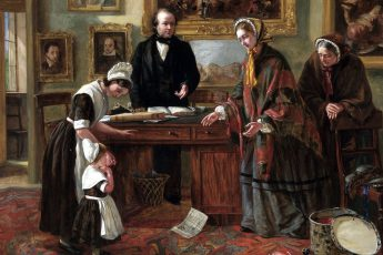 Эмма Браунлоу «Подкидыш возвращается к матери», 1858 год