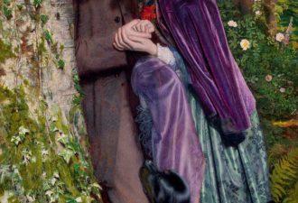 Артур Хьюз «Долгая помолвка», 1859 год