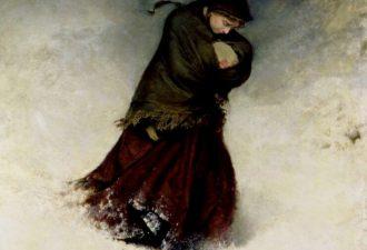 Фредерик Уокер «Сбившаяся с пути», 1863 год