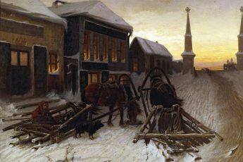 Василий Григорьевич Перов «Последний кабак у заставы», 1868 год