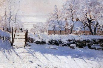 Клод Моне «Сорока», 1868—1869 годы