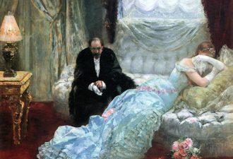 Анри Жерве «Возвращение с бала» , 1879 год