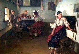 Пимоненко Николай Корнилович «Сваты», 1882 год