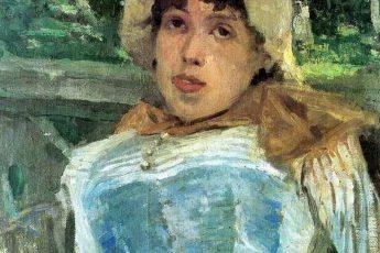 Константин Коровин «Портрет хористки», 1883 год