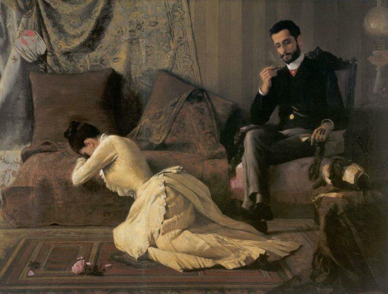Белмиру де Алмейда «Размолвка», 1887 год