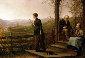 Дженни Огаста Браунскомб «Мечты о любви», 1887 год