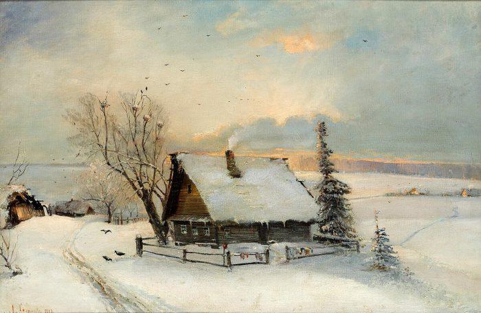 Алексей Саврасов «Начало весны», 1888 год