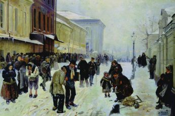Владимир Маковский «Ночлежный дом», 1889 год