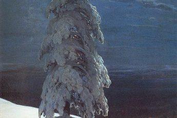 Иван Шишкин «На севере диком…», 1891 год