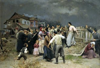 Николай Пимоненко «Жертва фанатизма», 1899 год