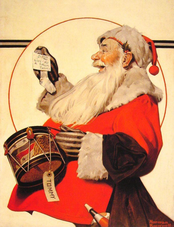 Норман Роквелл «Барабан для Томми», 1921 год