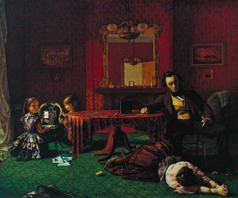 Август Эгг «Прошлое и настоящее», 1858 год