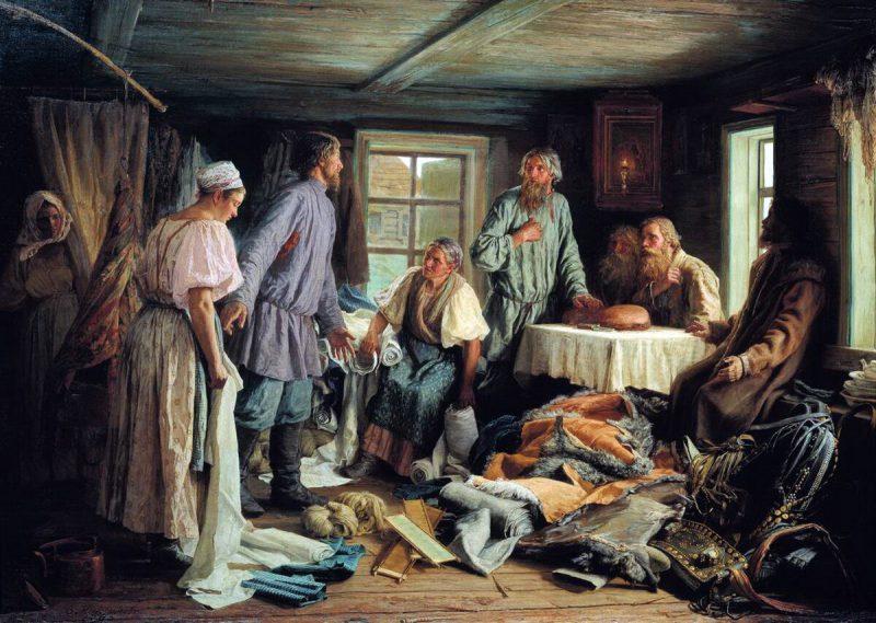 Василий Максимов «Семейный раздел», 1876 год