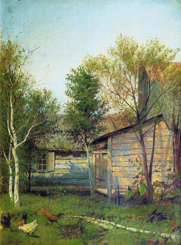 Исаак Левитан «Солнечный день. Весна», 1877 год