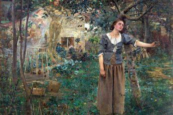 Жюль Бастьен-Лепаж «Жанна д'Арк», 1879 год